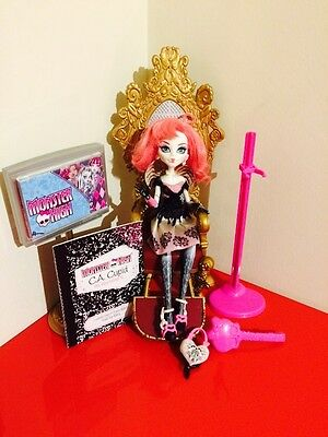 Monster High C.A. Cupid  1st Wave Sweet 1600 with Stand, Diary And Bag T3