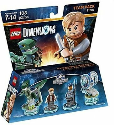 Lego Dimensions Jurassic World Team Pack NEW SEALED FAST DISPATCH
