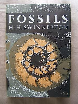 book THE NEW NATURALIST 42 Fossils H.H.SWINNERTON HB with DC
