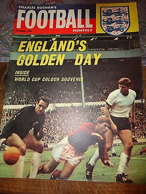 charles Buchan's Football monthly 1966 world cup issue colour souvenir england