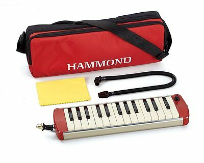 NEW Hammond SS S-27H Amplified Soprano Melodion Melodica 27 Key Carrying Case