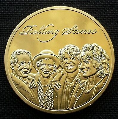 Commemorative Gold Plated Coin. . Commemorating the long running career of the