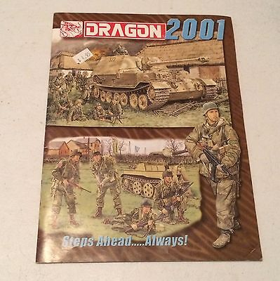 Dragon 2001 Catalog Brochure ~ Action Figures Exotic Cars Airplanes Boats