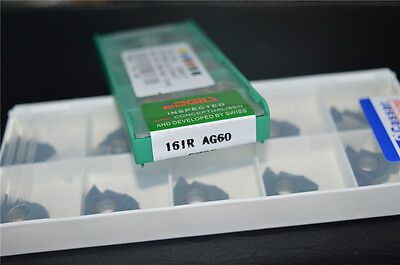 """10pcs 16 IR (3/8"""")AG60   For steel stainless steel  high quality Carbide Insert"""