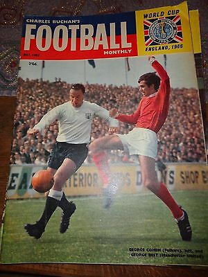 charles Buchan's Football monthly 1966 world cup issue Bill Shankly