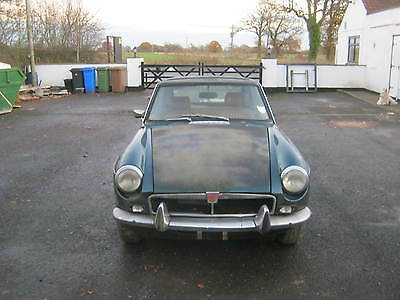 Mgb Gt-1974 Chrome-Bumper-For Restoartion-She Hasgreat Bones! Worth While Projet
