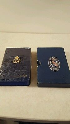 King George VI - 1937 Coronation New Testament -  With Protective Sleeve