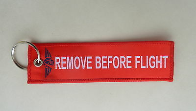 Remove Before Flight Jet Aviation STL AOG  NEW Keychain