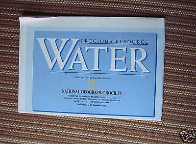 Water National Geographic Map November 1993