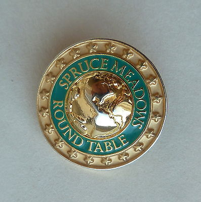 Spruce Meadows Round Table Rare Lapel Hat Pin