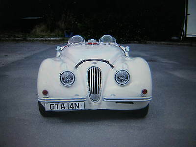 Stunning Looking Jaguar Xk120 Replica-Le Mans Style Race Car!  Price Reduced-