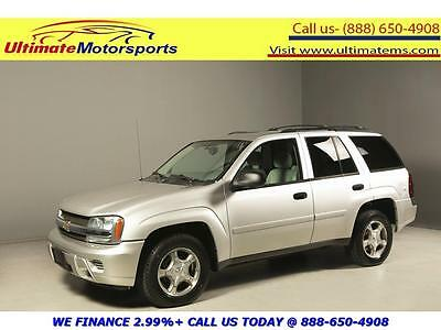 "2008 Chevrolet Trailblazer  2008 CHEVROLET TRAILBLAZER LS AUTO CRUISE PWR SEAT 17""ALLOYS 44K MILES SILVER"