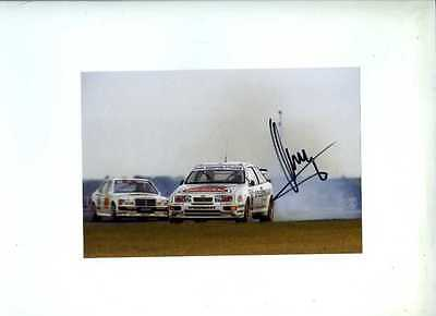 Klaus Ludwig Ford Sierra Cosworth DTM Champion 1988 Signed Photograph