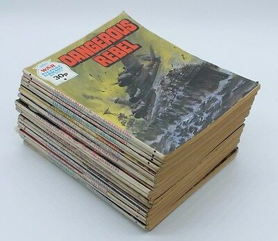 26x WAR Picture Library comics