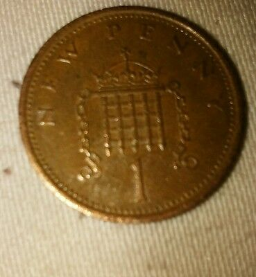 1p coin 1976 NEW PENNY