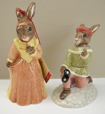 Royal Doulton Romeo & Juliet Bunnykins, Collectors Club, with Boxes