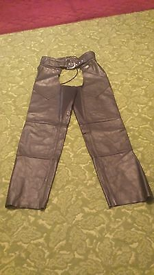 harley davidson leather chaps size Womens Large