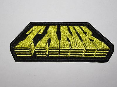 TANK embroidered NEW patch NWOBHM