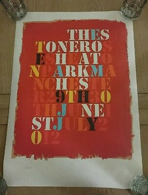The Stone Roses HEATON PARK Lithograph 2012 7/500 John Squire