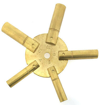 Universal Clock Key for Winding Grandfather Clocks