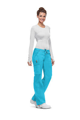 Code Happy Women's Low Rise Drawstring Cargo Pant 46000AB Free Shipping