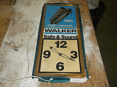 Walker Mufflers & Pipes Safe and Sound Clock