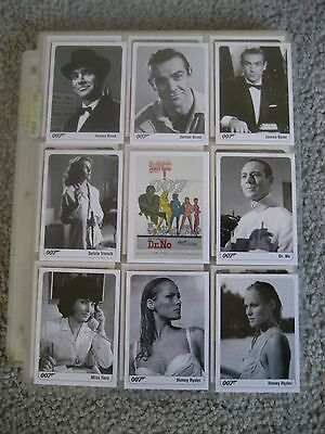 The Complete James Bond Trading Card Set 2007 Rittenhouse 1-189