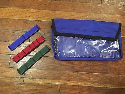 Conterra EMS EMT Large Organizer Pouch and Elastic Strip Units