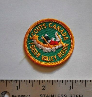 Fraser Valley Region, Boy Scouts Canada Badge, Patch, New