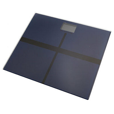 180kg/396lb Electronic Toughened Glass Digital LCD Bathroom Body Weighing Scales