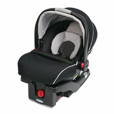 Graco SnugRide Click Connect 35 Infant Car Seat with Boot, Color Pierce New