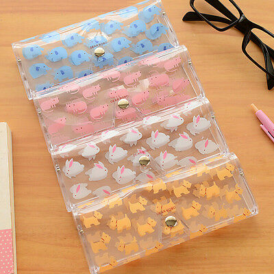 Cute Clear Sunglasses Glasses Case Spectacle Storage Protection Carry Box LWY