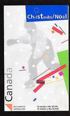 BOOKLET: CHRISTMAS, BK277, UC#2004, 2003, 48c, 12 STAMPS DOMESTIC RATE