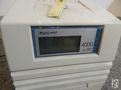 Pyramid Time Clock 4000 TIME RECORDER WITH KEY