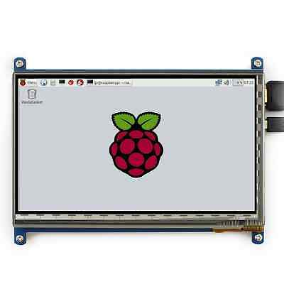 Makibes Raspberry Pi 7 Inch Capacitive Touch Screen LCD(C) 1024x600 HDMI Interfa