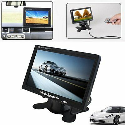 """Portable 7"""" TFT LCD Digital Color Screen Monitor for Car Rear View LOT LO"""