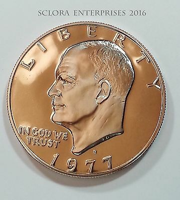 1977 S Eisenhower *proof* Dollar Coin  **free Shipping**