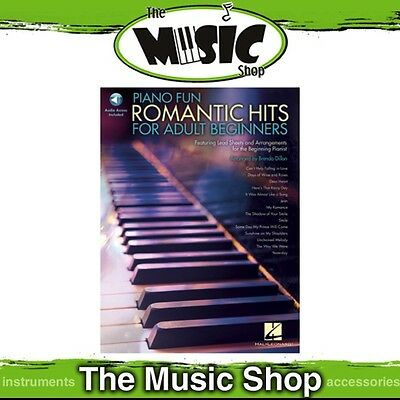 New Piano Fun: Romantic Hits for Adult Beginners Music Book for Easy Piano