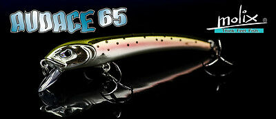 Artificiale Molix Audace 65 Suspending Minnow Lure Spinning