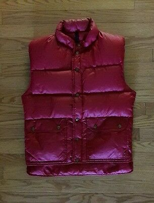 Vintage CAMP 7 Boulder Colorado Down Insulated Puffer Vest ~ Men's Small