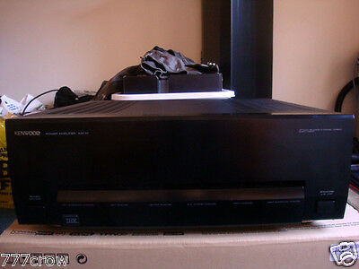 KENWOOD KM-X1 THX Reference 6 CHANNEL AUDIOPHILE AMPLIFIER-Excellent Condition