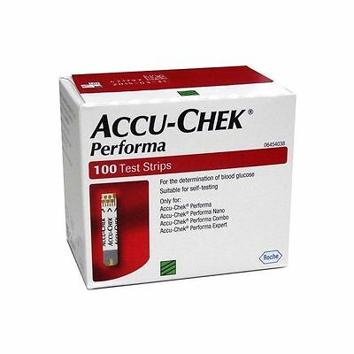 ACCU- CHEK PERFORMA 1000 TEST STRIPS NEW STOCK- may  2018 FREE SHIPPING