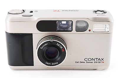 Contax T2 35mm Point & Shoot Film Camera [Excellent+]  From Japan Tokyo