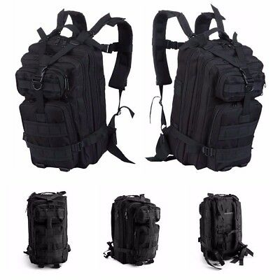 Molle 35L Hiking Camping Bag Army Military Tactical Trekking Rucksack Backpack