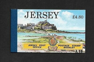 Great Britain Jersey **481a, 488a, 493a  £4.80 booklet