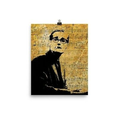 Bill Evans Some Other Time Jazz Poster Print