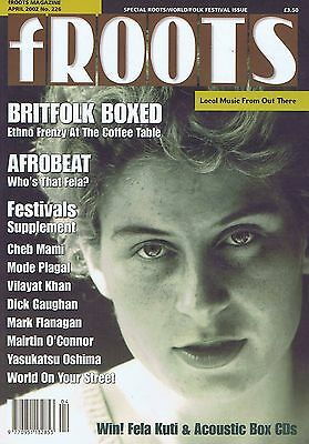 SHIRLEY COLLINS BRITFOLK / AFROBEAT / CHEB MAMI  Folk Roots FROOTS  226 Apr 2002