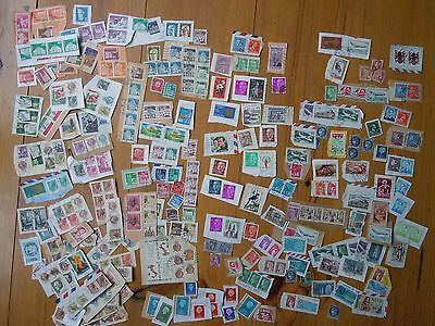 Mixture Vintage Stamps 1960S/70S European: France/italy/greece/spain Etc