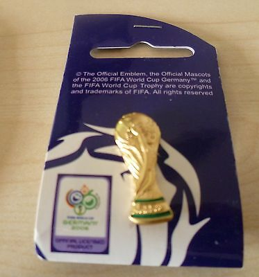 World Cup 2006 Germany metal FIFA Trophy Pin Badge Official Licensed Product