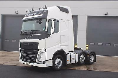 2015 Volvo FH500 6X2 T/unit  Globetrotter XL Cab, Mid Lift Axle, Premium Stereo,
